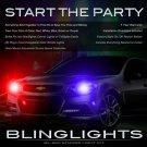 Holden Statesman Police Head Lamps Strobes Lights Kit