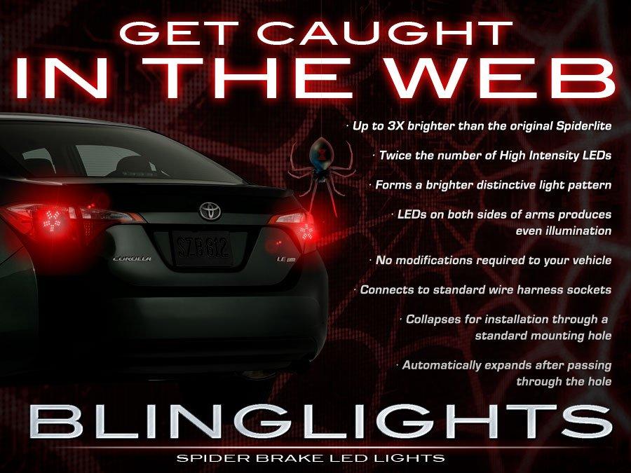 Toyota Corolla Custom LED Tail Lamps Light Bulbs Set Pair