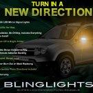 Dacia Duster LED Mirror Turn Signal Light Set Side Blinker Lamp Kit