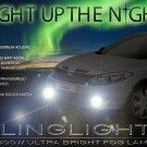 Dacia Logan Xenon Fog Lamp Driving Light Kit LED Foglights