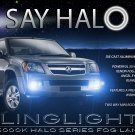Holden Colorado Angel Eye Fog Lamps Driving Lights Kit