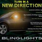Toyota Camry LED Mirror Turn Signals Light Blinker Lamp Kit Side Signalers