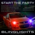 Holden Commodore Ute Police Head Lamps Strobes Lights Kit