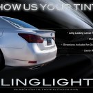 2013+ Lexus GS Tinted Tail Light Lamp Smoked Overlay Kit Film Protection