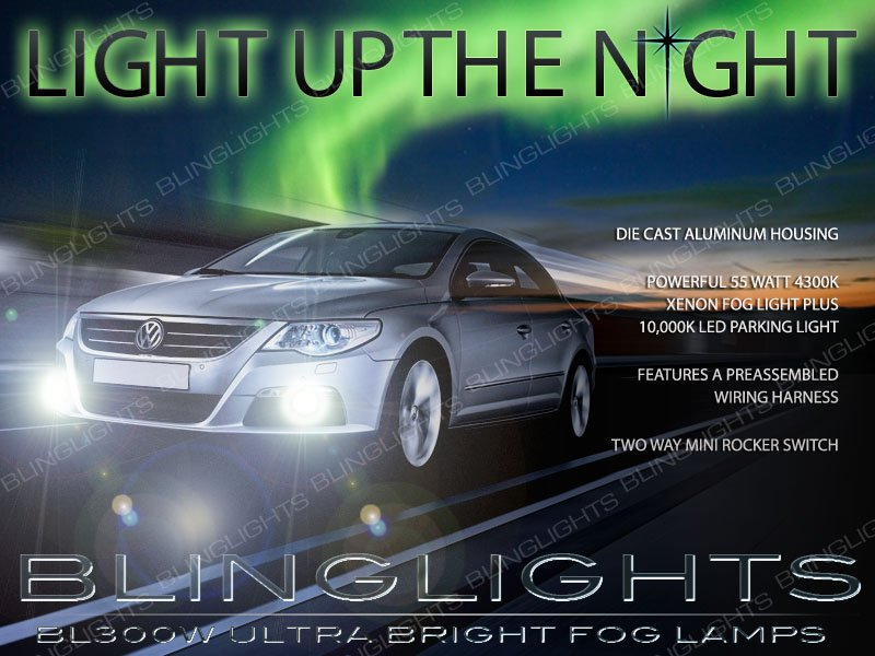2009 2010 2011 VW Passat CC Fog Lamp Driving Light Kit Xenon