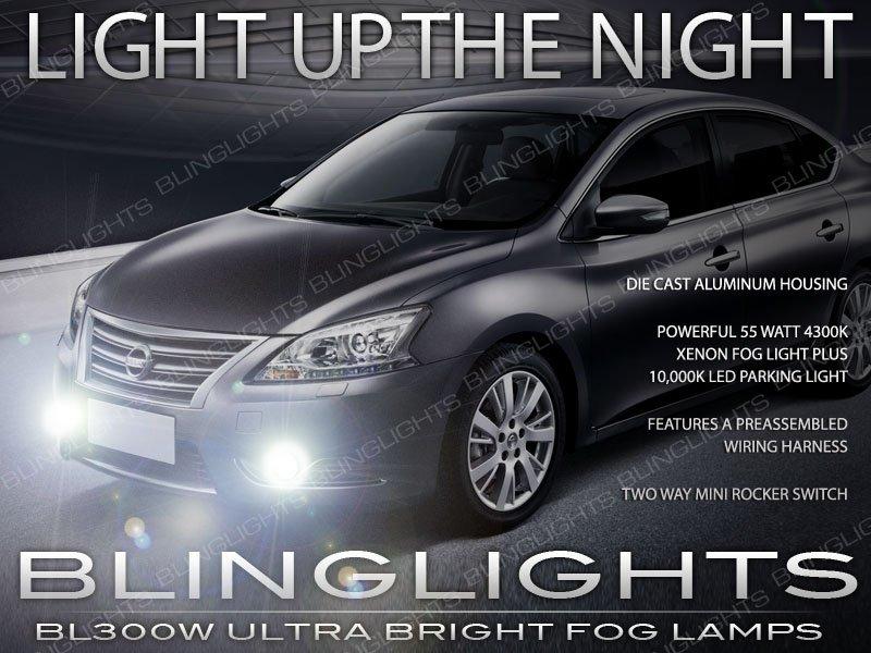 2013 2014 2015 Nissan Sentra Xenon Fog Lamp Driving Light B17