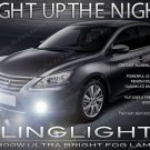 2013 2014 Nissan Sentra Xenon Fog Lamp Driving Light Kit