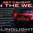 Mazda3 Custom LED Tail Lamp Light Bulbs Sedan Hatchback Set
