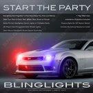 Chevy Camaro Interceptor Strobe Head Lamp Tail Light Kit Police