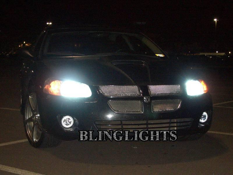 2001-2006 Dodge Stratus Sedan Halo Fog Lamp Driving Light Kit