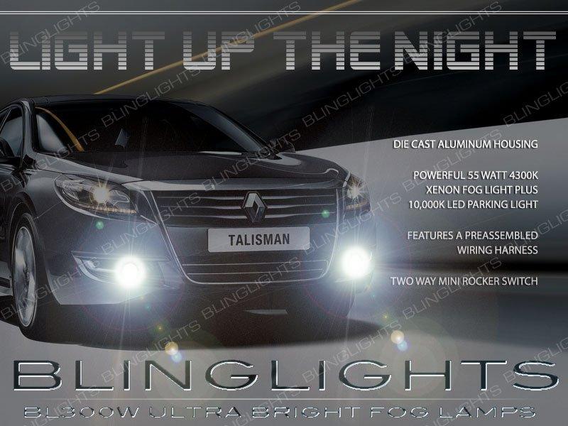 2013 2014 2015 Renault Samsung SM7 Fog Lamp Light Kit Xenon Drivinglights