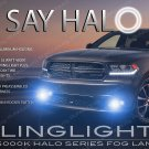 2014 2015 2016 2017 Dodge Durango Halo Angel Eye Fog Lamps Lights Kit