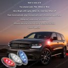 Dodge Durango LED Flushmount Turn Signal Lights Marker Lamp Set
