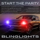 Dodge Durango Head Lamps Strobe Lights Kit Custom