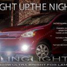 2012-2015 Mitsubishi Mirage Fog Lamp Driving Light Kit Xenon