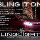 Mitsubishi Mirage LED DRL Head Lamp Light Strips Day Time Running Kit