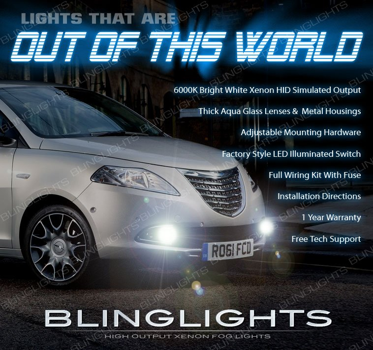 2012-2015 Chrysler Lancia Ypsilon Fog Lamp Driving Light Kit 846