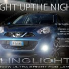 2014 2015 2016 Nissan Micra Fog Lamp Driving Light Kit K13c