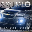 Chevrolet Trax Halo Fog Lamp Driving Light Kit Chevy Angel Eye Pair Set