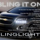 Holden Trax LED Day Time Running Lamps Light Strips Kit LS LTZ