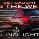 Holden Trax Custom LED Tail Lamp Light Bulbs Pair Set GM