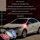 Renault Fluence LED Flushmount Side Turn Signal Light Lamp Accent Markers Set