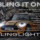 Mini Cooper LED DRL Head Lamp Light Strips Kit R50 R52 R53 R55 R56 R57 R58 R59 R60 R61