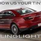 Ford Taurus Tinted Smoked Taillamps Taillights Overlays Film Protection