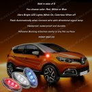 Renault Captur Flushmount LED Side Turn Signal Light Marker Lamp Signaler Kit Blinker Set Pair