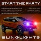 Renault Captur Head Lamps Xenon Strobe Lights Kit Flasher Repeater
