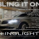 Lincoln MKT LED DRL Head Lamp Light Strips Day Time Running Kit