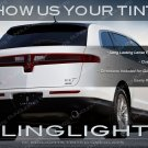 Lincoln MKT Tinted Tail Lamp Light Overlays Kit Smoked Film Protection