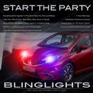 Nissan Versa Note Head or Tail Lamps Xenon Strobe Lighting Kit