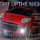 2012 2013 2014 Citroën C1 Xenon Fog Lamp Driving Light Kit