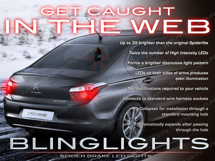 Peugeot 301 Custom 3D LED Tail Lamp Light Bulbs Replacement Set Pair