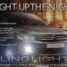 2013 2014 2015 Peugeot 301 Xenon Fog Lamp Driving Light Kit