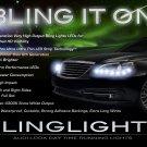 Lancia Flavia LED LED DRL Head Light Strips Day Time Running Lamp Kit