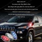 Jeep Cherokee LED Flush Mount Turn Signal Lights Kit Signaler Blinker Lamps