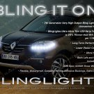 Renault Koleos LED DRL Head Light Strips Day Time Running Lamps Kit