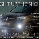 2014-2016 Renault Koleos Fog Lamps Driving Lights Kit Xenon Foglamps Drivinglights