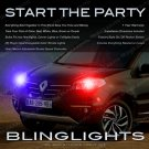 Renault Koleos / Samsung QM5 Head & Tail Lamp Strobe Light Kit