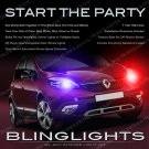Renault Scenic Head & Tail Lamps Xenon Strobe Lights Kit Scénic