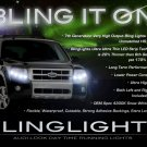 Mercury Mariner LED DRL Head Lamp Light Strips Kit Day Time Running