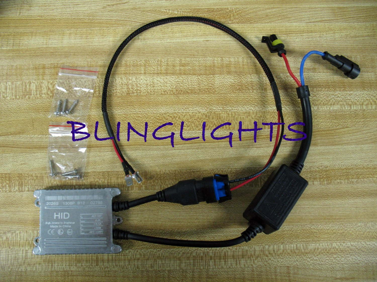 1 Single Replacement Xenon HID Conversion Kit 35w Ballast AMP Universal Part 35 Watt 35Watt Digital