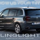 Citroën Grand C4 Picasso Tinted Tail Lamp Light Overlays Kit Citroen Smoked Protection Film