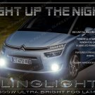 2014 2015 2016 Citroen Grand C4 Picasso Fog Lamp Driving Light Kit Citroën Xenon