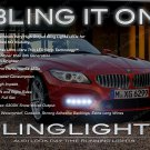 BMW Z3 e36 e37 e38 LED DRL Head Light Strips Day Time Running Lamp Kit