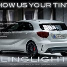 Mercedes Benz A-Class Tinted Taill Lamp Light Overlays Kit Protection Film