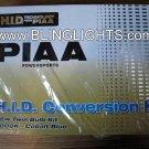 Complete PIAA 2 Lamp Setup H6M 6000K Xenon HID Light Conversion Kit + Harness