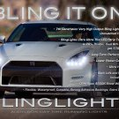 Nissan GT-R LED DRL Head Light Strips Day Time Running Lamp Kit GTR
